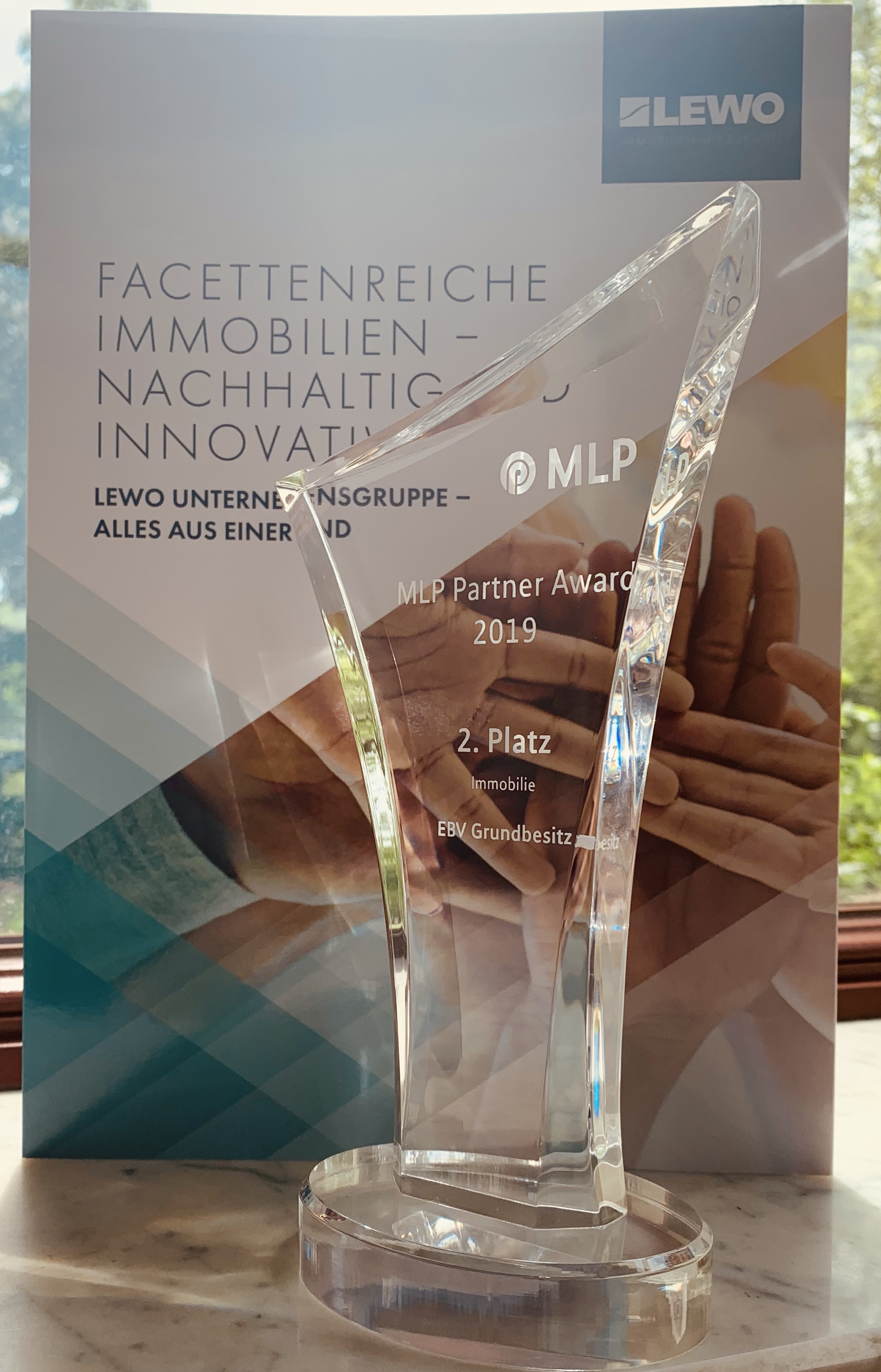 MLP-Award in silber für EBV Grundbesitz GmbH
